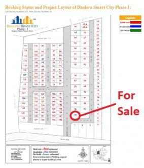 2605 ft² – Book Plot No 51 near Main Entrance in Dholera-Real Estate-For Sell-Land for Sale-Ahmedabad