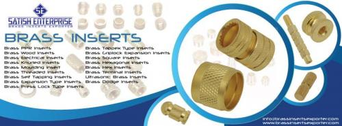 Brass Inserts manufacturer & Supplier in india-Services-Other Services-Jamnagar