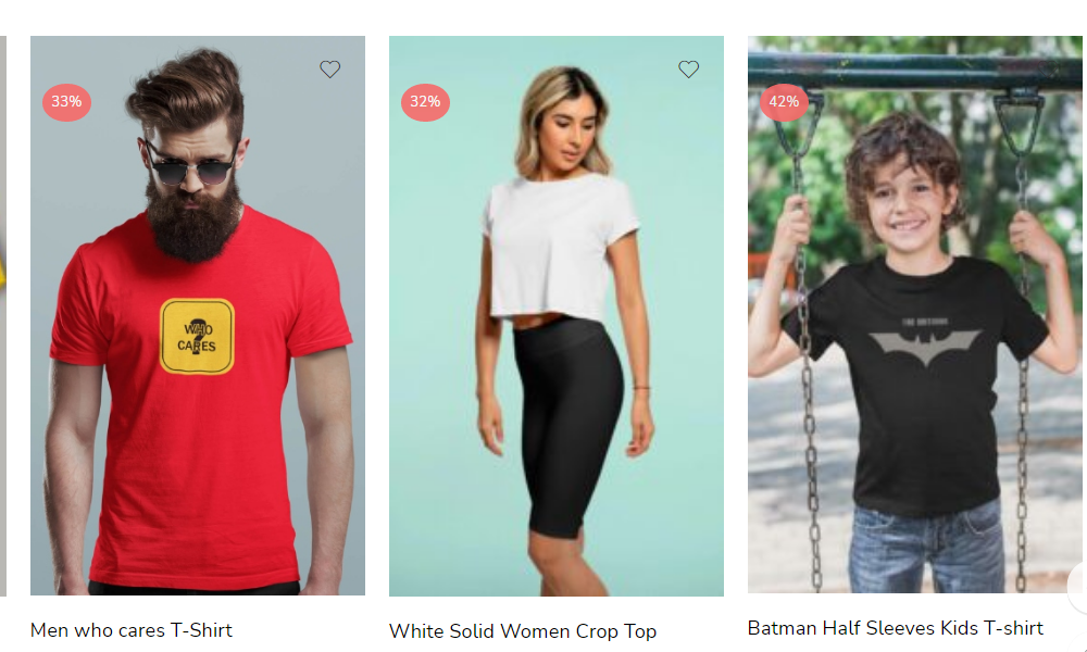 T-SHIRTS ACCORDING TO YOUR BODY TYPES-Services-Other Services-Delhi