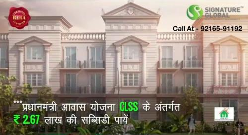 1 BR, 720 ft² – Best Flats by Signature Global at very Low Prices in Karnal-Real Estate-For Sell-Flats for Sale-Karnal