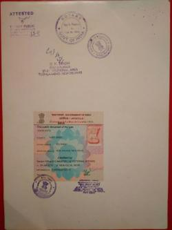 APOSTILLE FOR EUROPEAN UNIVERSITY STUDY IN SRINAGAR-Services-Legal Services-Shimla