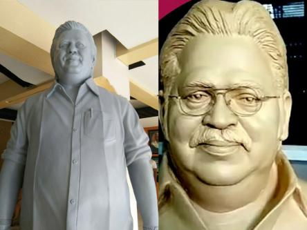 Dasaru Statue at Film Chamber-Community-Artists-Hyderabad