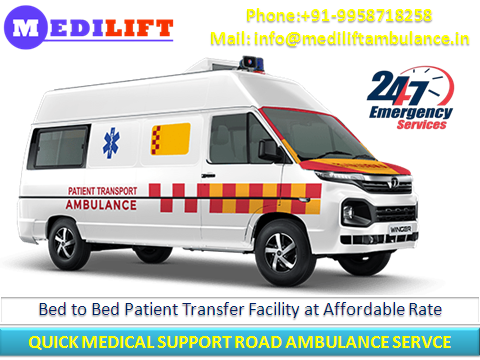 Best and Cost-Effective Ambulance Service in Nehru Place-Services-Health & Beauty Services-Health-Delhi
