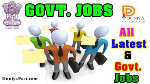 Latest Govt. Jobs 2018 – All Government Jobs-Jobs-Government & Public Service-Jaipur