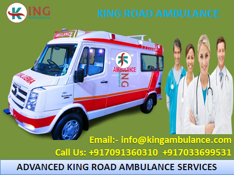 Safe Transfer of Patient by King Ambulance Service in Patna-Services-Health & Beauty Services-Health-Patna