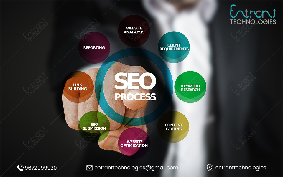 Entrant Technologies is one of the best seo services provide-Services-Web Services-Jaipur