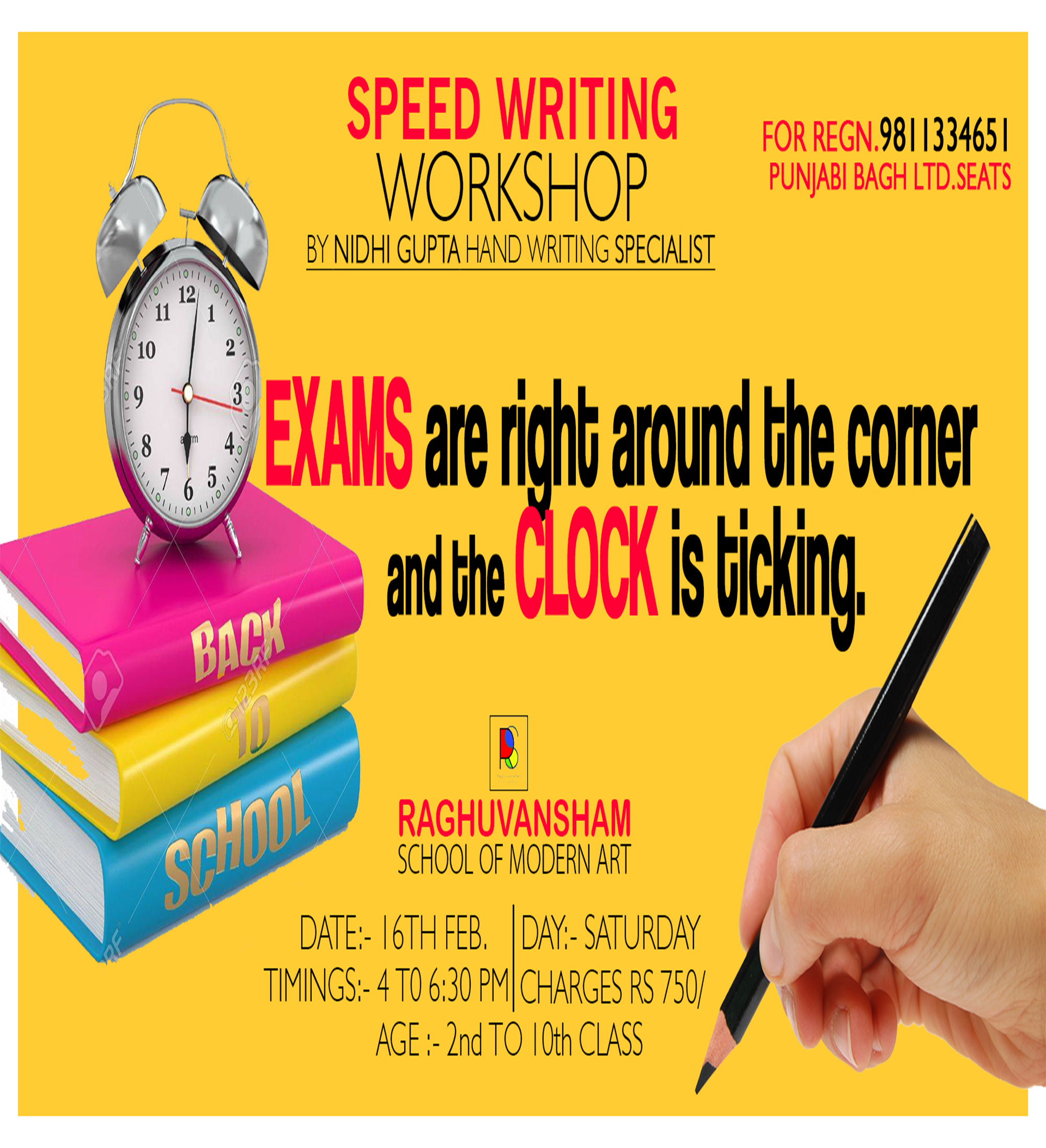 Speed Writing Workshop -Events-Other Events-Delhi