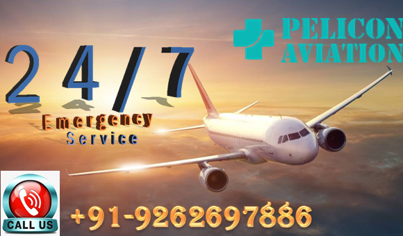 Hire Most Cost-Effective Air Ambulance in Delhi by Pelicon -Services-Health & Beauty Services-Health-Delhi