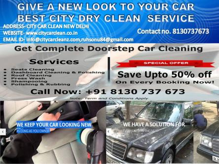 CAR DRY CLEANING & BEST POLISHING SERVICE AT YOUR DOORSTEP IN DE-Services-Automotive Services-Rajpur Sonarpur
