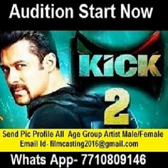 online Free audition 2017 movie kick 2-Jobs-Arts & Culture-Delhi