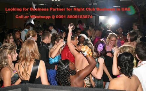 Business Partner for Night Club Business in UAE-Community-Activity Partners-Pune