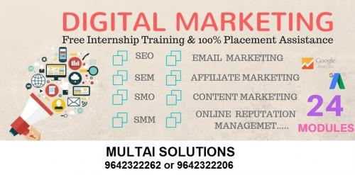 Job Internships On Dot Net, PHP, SEO and Digital Marketing - MULTAI SOLUTIONS-Jobs-Internships-Hyderabad