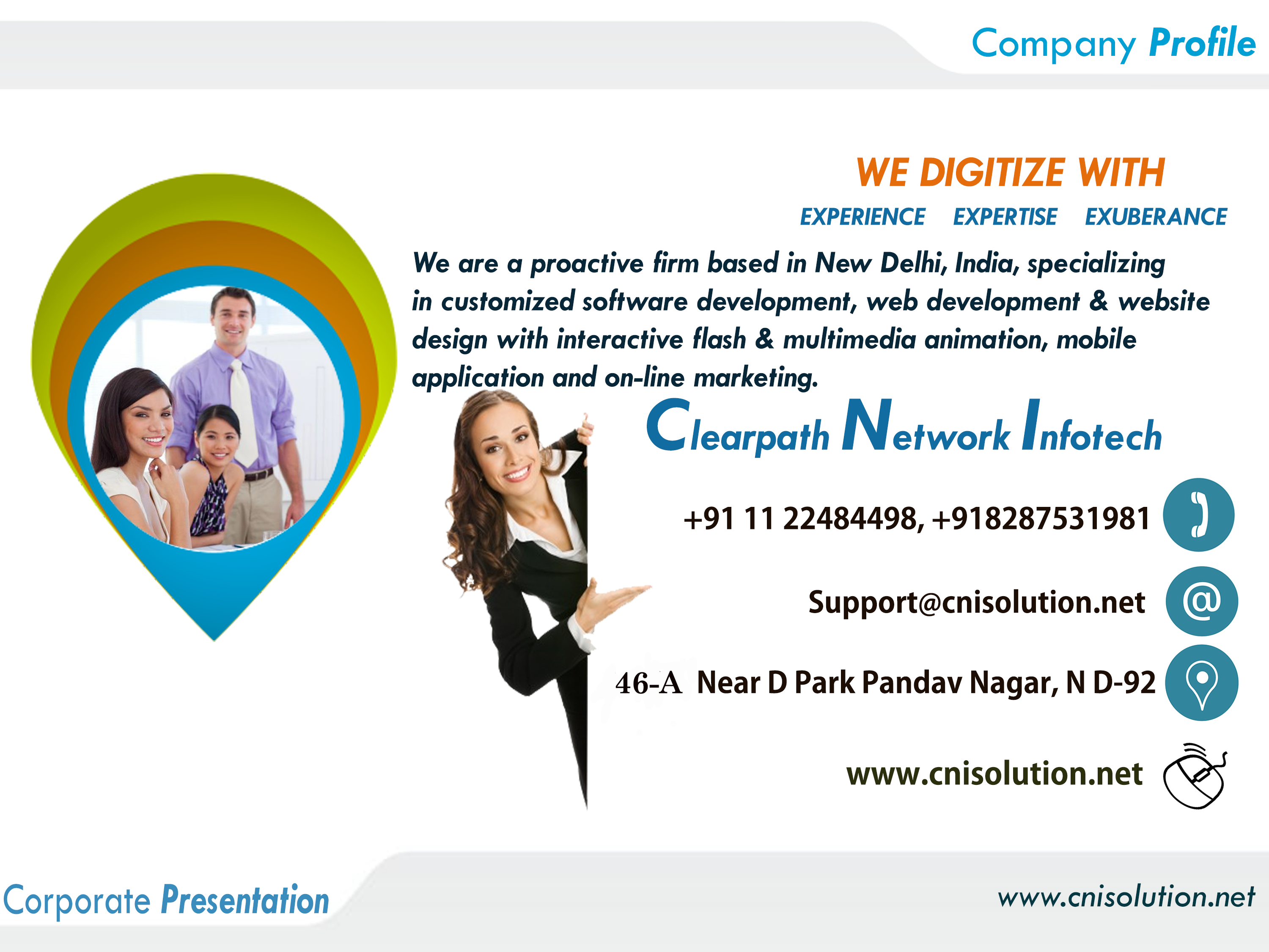 Cnisolution aims to assist giant and tiny businesses-Services-Web Services-Delhi