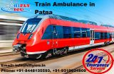 Avail the ICU Supported Train Ambulance Services from Patna -Services-Health & Beauty Services-Health-Patna