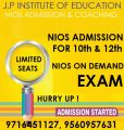 Admission in nios stream 2 for class x and xii mehroli-Classes-Continuing Education-Delhi