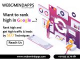 SEO Agencies in Bangalore - Webomindapps-Services-Web Services-Bangalore