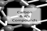 Carbon and its Compounds-Classes-Other Classes-Goa
