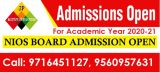 admission open for failed student, do 10th 12th from nios -Classes-Continuing Education-Delhi