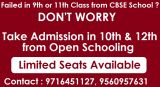 Get Direct admission 10th and 12th class in nios gurgaon-Classes-Continuing Education-Gurgaon
