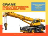 Crane manufacturers in Kozhikode-Services-Other Services-Coimbatore