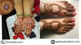 Mehndi Artist At Home In Bangalore - Natural & Exotic Mehend-Events-Other Events-Bangalore