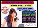 Home Based Copy Paste Jobs & Home Based Form Filling Jobs-Jobs-Part Time Jobs-Ahmedabad