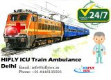Avail Life-Saving Train Ambulance Services in Delhi by HIFLY-Services-Health & Beauty Services-Health-Ghaziabad