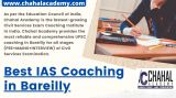 Best IAS Coaching in Bareilly  - Chahal Academy-Classes-Other Classes-Delhi