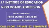 nios admission 10th & 12th at open school in badarpur-Classes-Continuing Education-Delhi