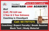 Best CLAT, PU LLB Law 3 5 year Entrance Coaching in Chandiga-Classes-Other Classes-Chandigarh