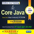 Core Java Online Training – Naresh I Technologies-Classes-Computer Classes-Programming Classes-Hyderabad